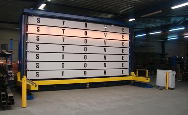 Warehousing Stove Woodworking Machines Bvba Lift